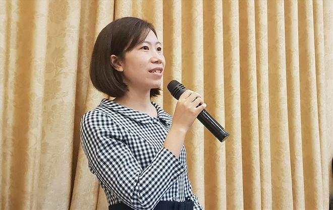 Giáo viên Dương Thị Phương Thảo chia sẻ nghề giáo quá áp lực.