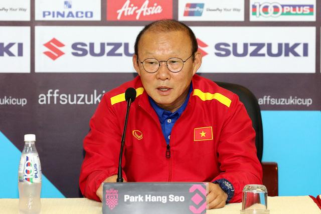 HLV Park Hang Seo tự tin trước trận đấu với Philippines lúc 19h30 ngày mai - Ảnh: Gia Hưng