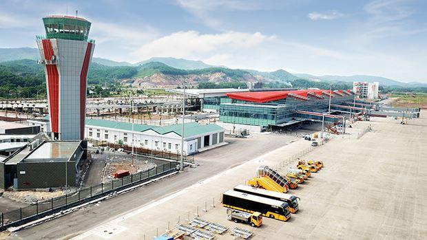 Sân bay quốc tế Vân Đồn có tổng mức đầu tư 7.500 tỷ đồng.