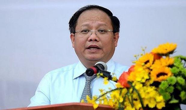 Ông Tất Thành Cang, Phó bí thư thường trực Thành uỷ TP HCM.