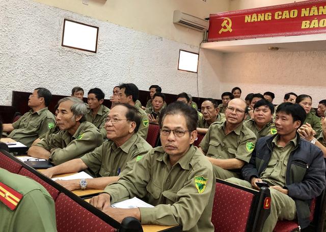 Đại diện các lực lượng 8394 của Đà Nẵng tham dự Hội nghị.