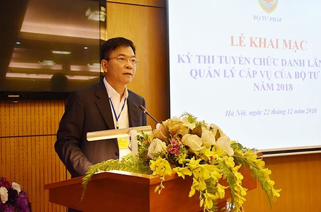 Bộ trưởng Lê Thành Long ghi nhận và đánh giá cao sự tham gia hưởng ứng của các ứng viên.