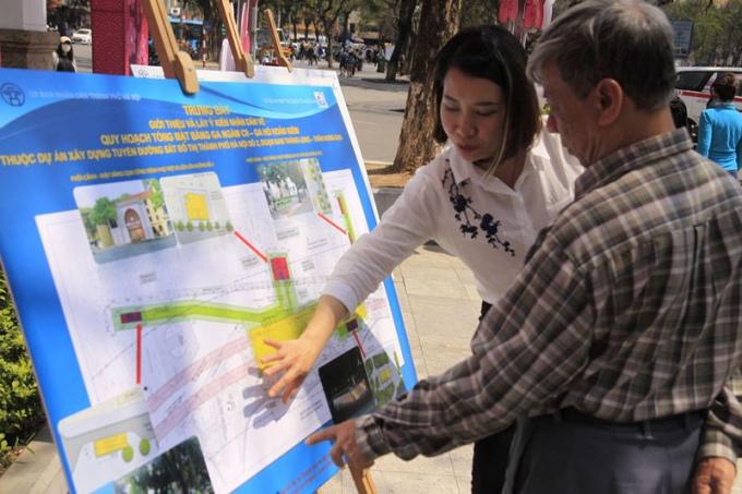 Lựa chọn vị trí nhà ga C9 Hồ Hoàn Kiếm nhận được sự quan tâm lớn của dư luận.