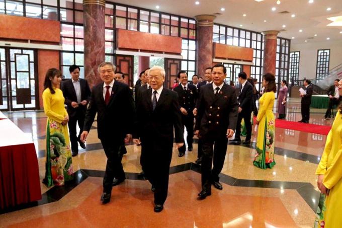 Đồng chí Nguyễn Phú Trọng, Tổng Bí thư, Chủ tịch nước, Trưởng ban Chỉ đạo Cải cách tư pháp Trung ương dự và chỉ đạo Hội nghị.