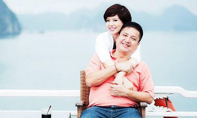 Vợ chồng NSƯT Chí Trung.