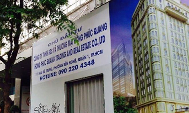 Dự án khách sạn 5 sao Diep Bach Duong's Senla Boutique tại số 111 Hai Bà Trưng, quận 1 chuyển giao cho Công ty Hồng Phúc Quang cuối năm 2017.