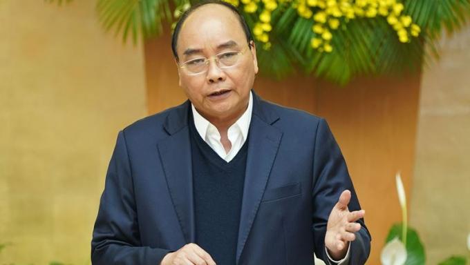 Thủ tướng phát biểu tại cuộc họp