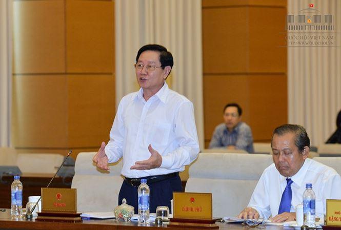 Bộ trưởng Nội vụ Lê Vĩnh Tân.