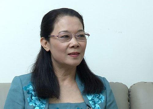 Bà Nguyễn Thị Bích Ngà, Ủy viên Ủy ban Kiểm tra Trung ương.