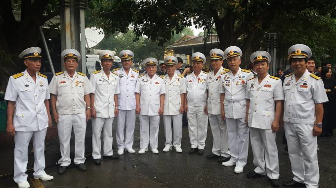 Cựu chiến binh đoàn tàu không số đến viếng nguyên Chủ tịch nước, Đại tướng Lê Đức Anh