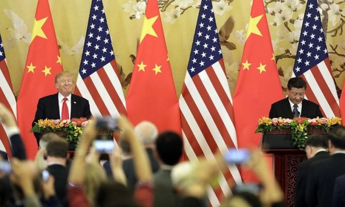 Tuyên bố của ông Trump được đưa ra sau khi Mỹ và Trung Quốc hôm 10/5 vừa qua đã kết thúc hai ngày đàm phán thương mại mà không có thỏa thuận.