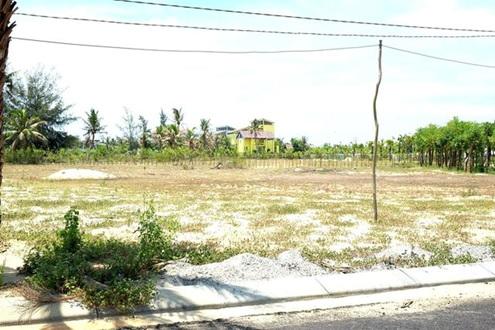 Các dự án của Công ty TNHH Chí Thành chậm triển khai, bỏ hoang. Ảnh: Báo Đầu thầu.