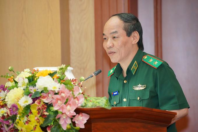 Trung tướng Đỗ Danh Vượng - Bí thư Đảng uỷ, Chính uỷ Bộ đội Biên Phòng gửi lời cảm ơn sự hỗ trợ tích cực của Tập đoàn Hưng Thịnh trong công tác phòng chống Covid-19.
