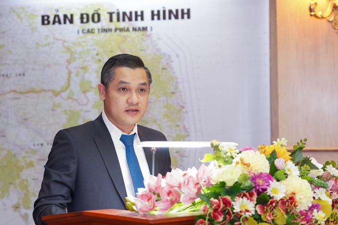 Ông Nguyễn Văn Cường - Phó Chủ tịch Tập đoàn Hưng Thịnh chia sẻ tại lễ trao tặng.
