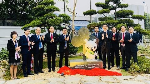 A2Các đại biểu dự lễ khánh thành khu vườn Nhật Kyo-sei-no-niwa