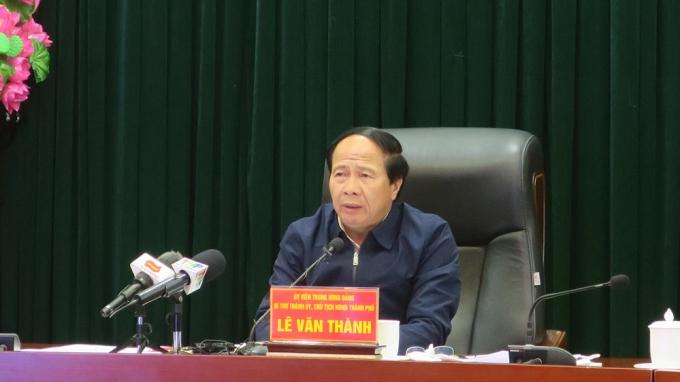 Bí thư Thành uỷ, Chủ tịch HĐND TP Lê Văn Thành kết luận tại Hội nghị