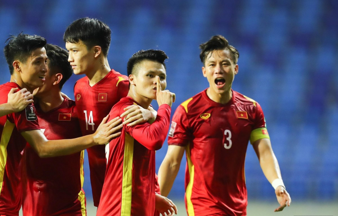 Chiến thắng 4 - 0 trước Indonesia của Đội tuyển Việt Nam làm nức lòng người hâm mộ. (Ảnh: Bongda24h)