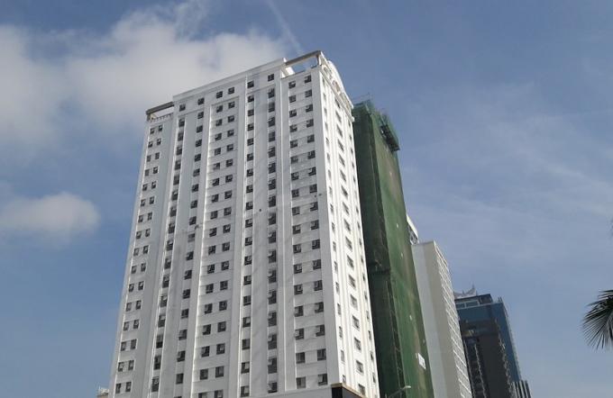 Khách sạn EDEN xây sai phép 129 phòng. Ảnh: HH.