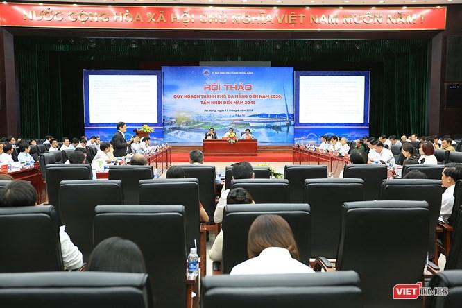 Chiều 11/6, UBND TP Đà Nẵng tổ chức Hội thảo Quy hoạchĐà Nẵngđến năm 2030, tầm nhìn năm 2045 với sự tham dự của nhiều chuyên gia quy hoạch, kinh tế trong và ngoài nước.
