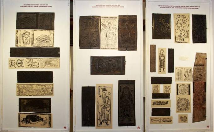 Bộ sưu tập tranh dân gian rất giá trị về mặt văn hoá.