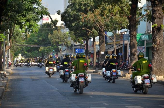 Lực lượng phối hợp sẽ tuần tra khép kín trên địa bàn thành phố 24/24h.