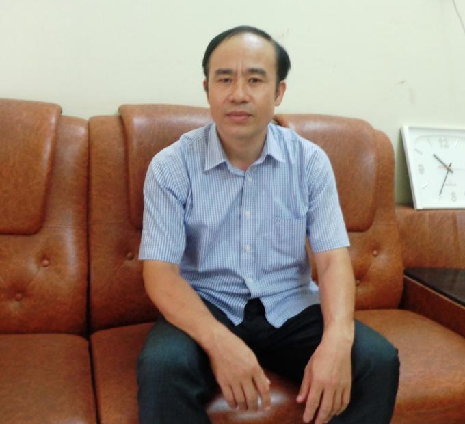 Ông Đặng Văn Cử, Phó Chủ tịch UBND xã Ngọc Lũ.