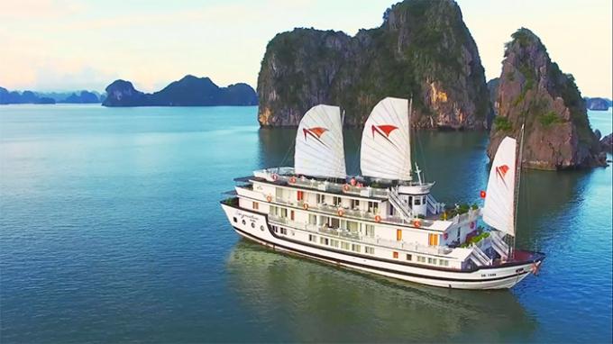 Hình ảnh Clip quảng bá Du lịch Việt Nam được phát sóng trên kênh truyền hình Travel Channel (Anh). Ảnh: internet