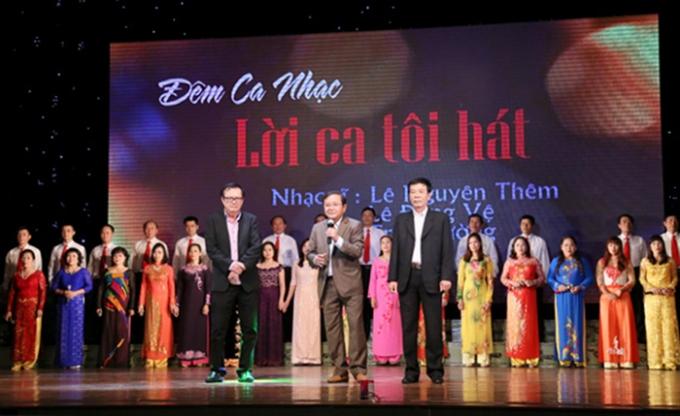 """Chương trình ca nhạc """"Lời ca tôi hát"""" (tác giả: Lê Nguyên Thêm, Lê Đăng Vệ) được giải A - Giải thưởng Hội nhạc sĩ Việt Nam 2015. Ảnh: Internet"""
