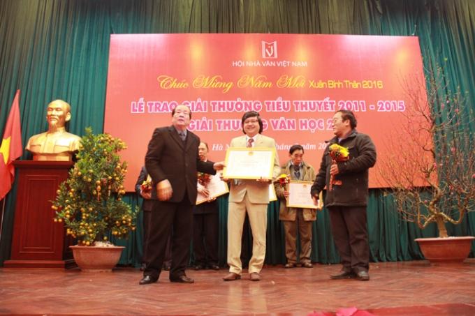 Những tác phẩm chất lượng sẽ được lựa chọn để trai giải thưởng của Hội Nhà văn Việt Nam.