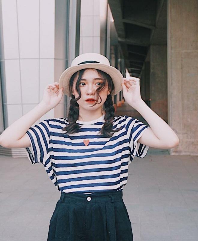 Nữ sinh Nghệ An gây sốt cộng đồng mạng với những bộ ảnh cực