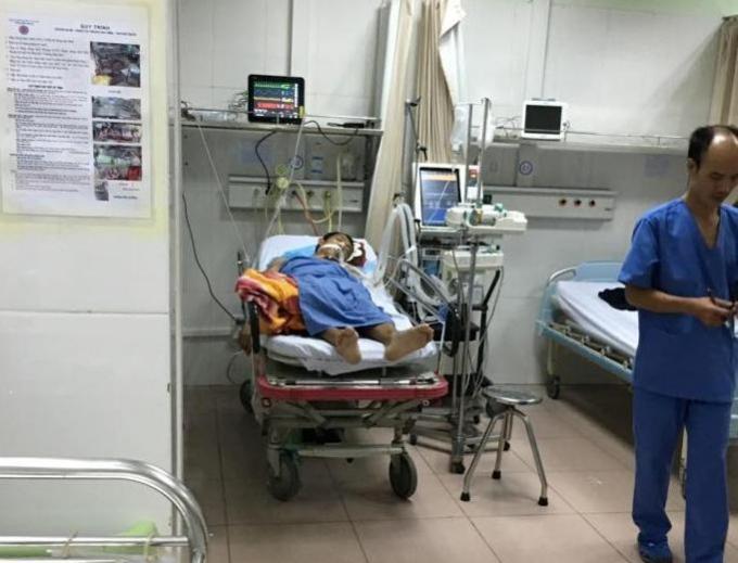 Tình hình sức khỏe của bệnh nhân có chuyển biến rất xấu