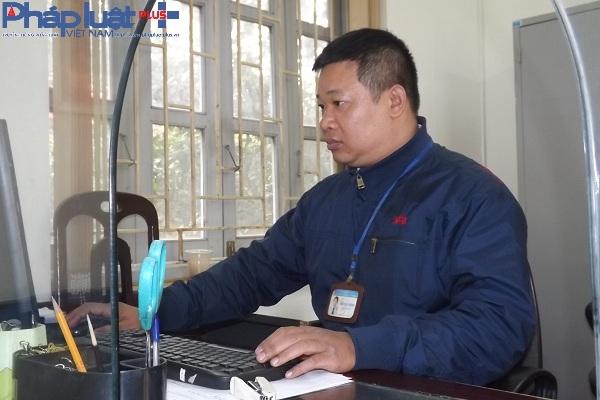 Anh Trần Đức Phương bắt đầu buổi làm việc đầu tiên khá nhẹ nhàng.
