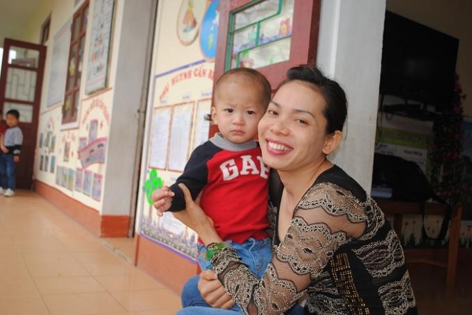 Với cô giáo Hà, hạnh phúc nhất là được sống và cống hiến. Ảnh Duy Ngợi