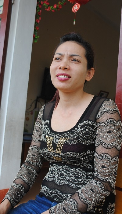 Cô Hà trải lòng về những ngày tháng khó khăn nhất trong cuộc đời mình. Ảnh Duy Ngợi