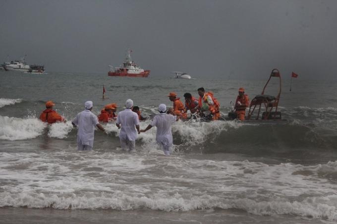 Buổi diễn tập Tìm kiếm cứu nạn hàng không tại Bãi Lữ