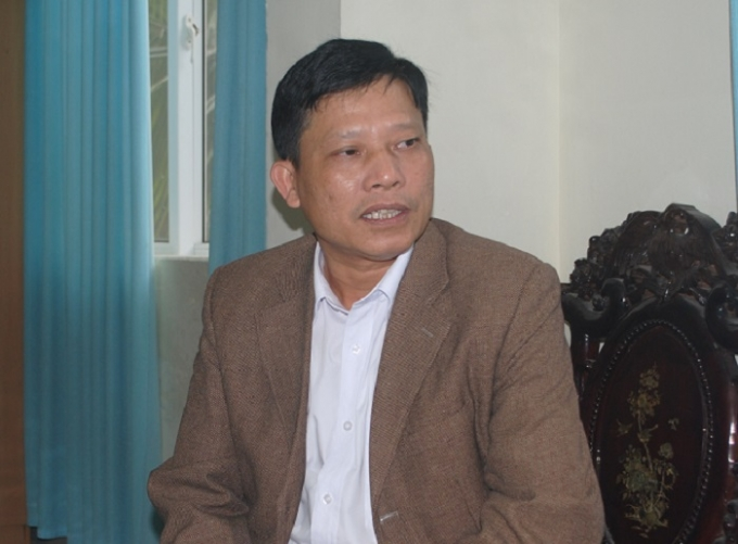 Ông Hoàng Sỹ Cường (ảnh Duy Ngợi).