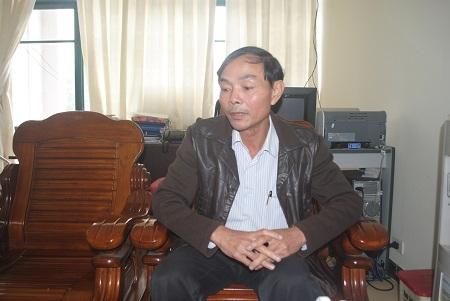 Giám đốc Cơ sở dạy nghề khu vực Bắc Trung Bộ khẳng định: Việc sử dụng ký túc xá học viên để làm phòng nghỉ là do chủ trường của Trường (ảnh Duy Ngợi).