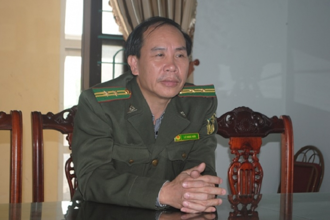Ông Lê Ngọc Hữu khẳng định: Hành vi của Chu Văn Cường là trái phép, gây bất bình trong xã hội và rất đáng bị trừng trị. (Ảnh: Duy Ngợi).