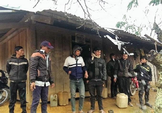 Người dân Keng Đu