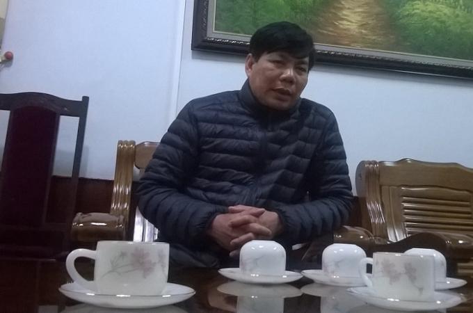Chủ tịch UBND huyện Quỳ Châu cho rằng do nhu cầu cát xây dựng của người dân nên rất khó xử lý thực trạng khai thác cát trái phép (Ảnh Duy Ngợi).