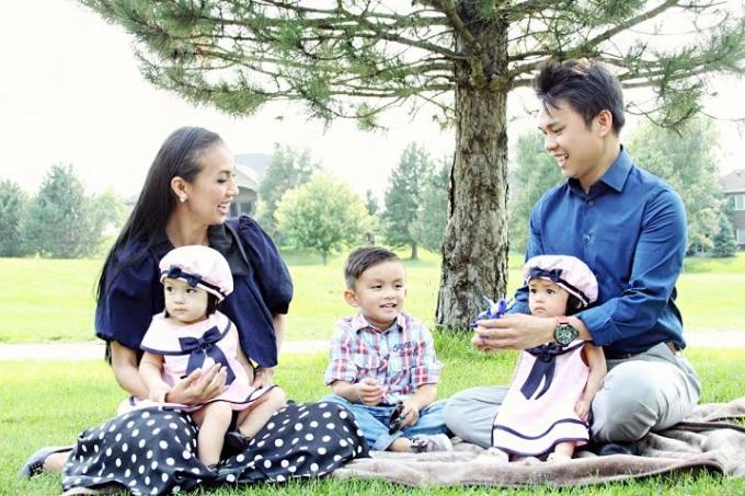 Tổ ấm gia đình MC Huyền Ny