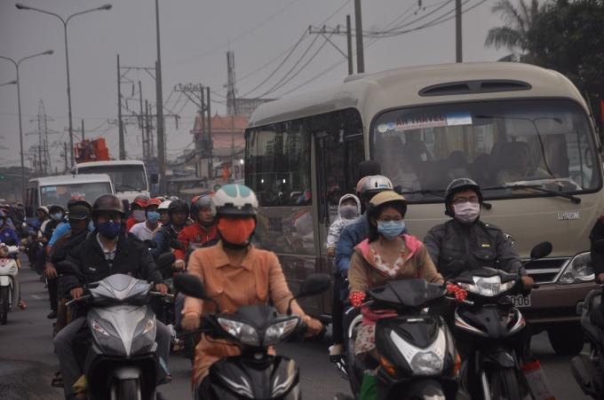 Có những nút đen về tình trạng ùn tắt giao thông vẫn không tắt đường nghiêm trọng