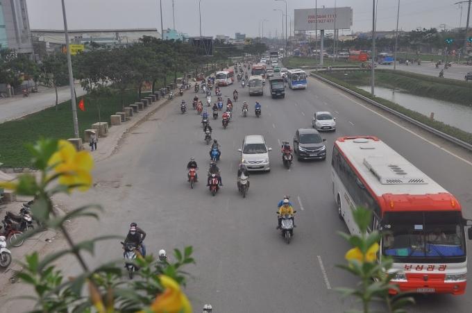 Đường về Sài Gòn thông thoáng rõ rệt sau kỳ nghỉ lễ