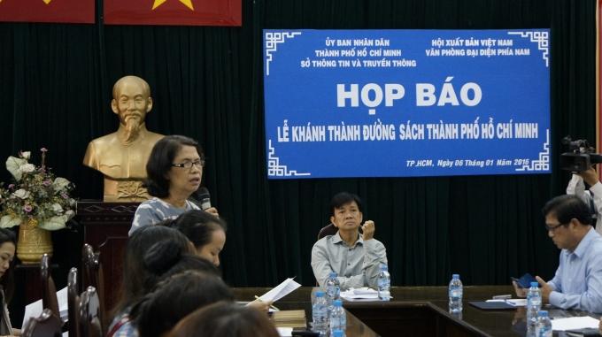 Các chuyên gia chia sẻ tại buổi họp báo.