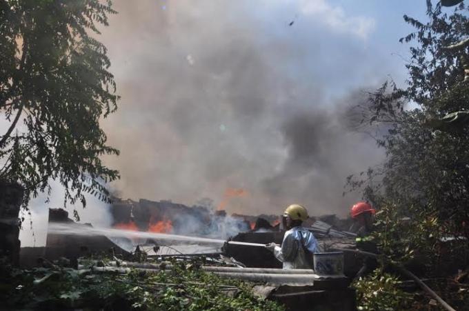 Đám cháy lớn nhất từ trước đến nay ở địa phương.