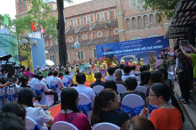 Con đường sách Thành phố Hồ Chí Minh ra đời thể hiện niềm tâm huyết của lãnh đạo về việc xây dựng văn hóa đọc trong cộng đồng.