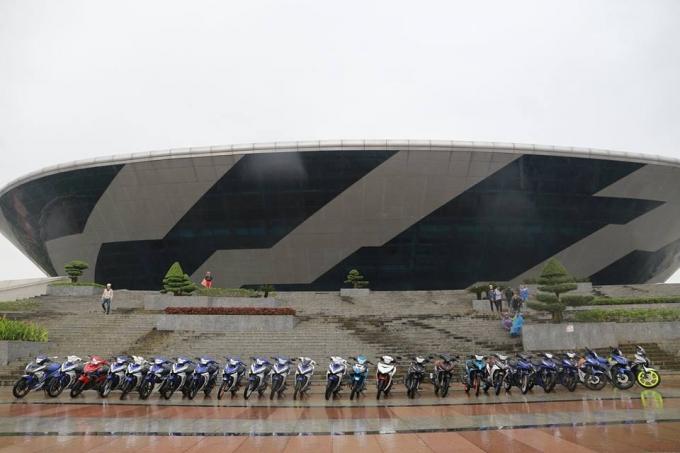 Đại hội Yamaha Riders toàn quốc năm 2016 (Y-Riders festival 2016) được diễn ra trong 2 ngày 9 & 10 tháng 1 năm 2016 tại Quãng trường 29-3, đường 2-9. TP Đà Nẵng.