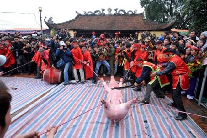 Chém lợn là nét văn hóa. (Ảnh minh họa)