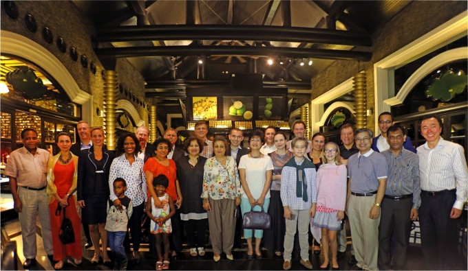 Các Đại sứ ẩm thực đến thăm InterContinental Danang.