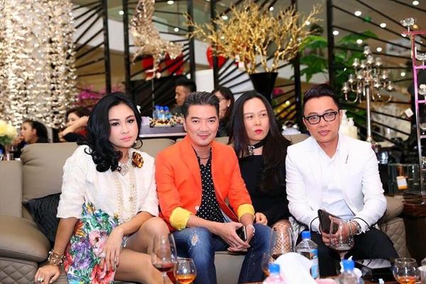 Sau nhiều đồn đoán thất thiệt, nữ doanh nhân vẫn chơi thân thiết bên loạt sao Việt. Ảnh: Internet